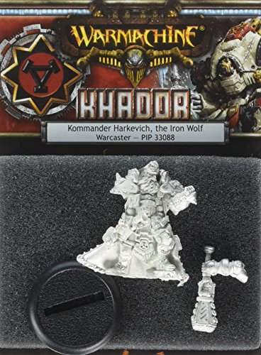 Privateer Press - Warmachine - Khador Kommander Harkevich Model Kit 3