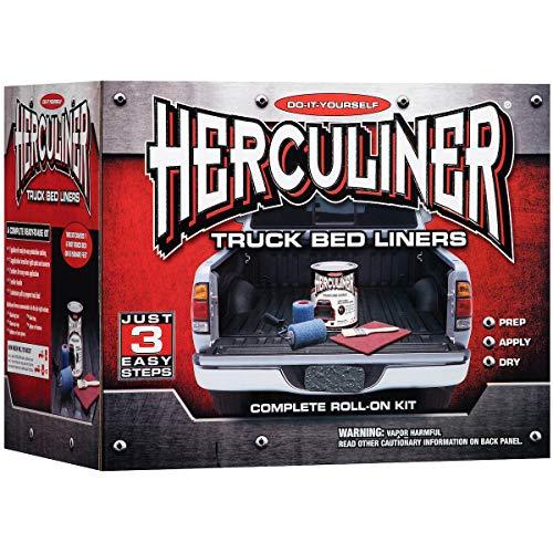 (Herculiner HCL1G8 Gray Brush-on Bed Liner Kit)