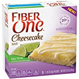Fiber One Cheesecake Bar, Key Lime, Dessert Bar, 5 Fiber Bars, 6.75 oz