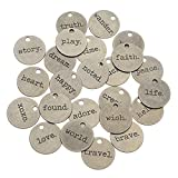 Typed Tokens by Tim Holtz Idea-ology, Pack of