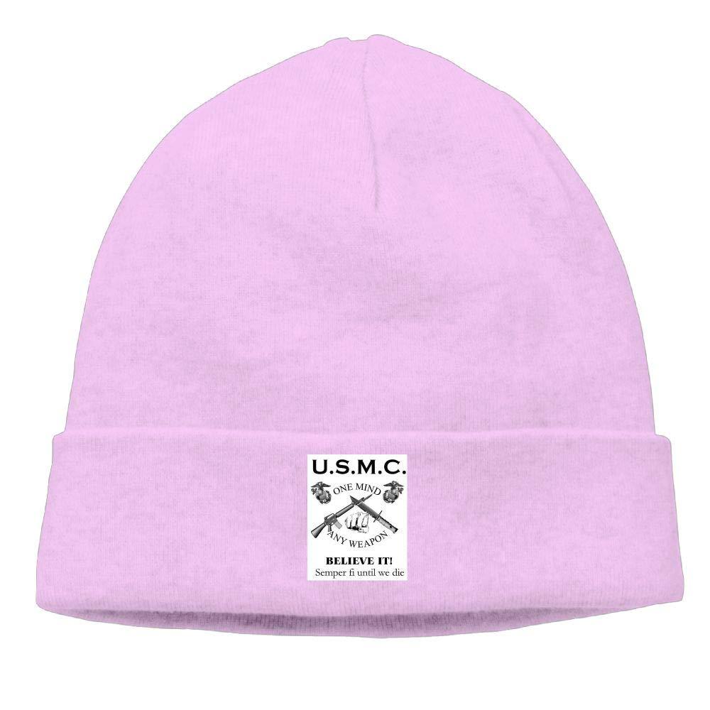 nordic runes USMC Marine Corps Beanie Hat Winter Warm Knit Skull Cap for Mens//Womens