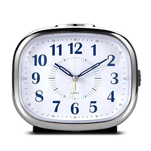 top best 5 bedside quartz analog alarm clocks for sale 2017 product realty today. Black Bedroom Furniture Sets. Home Design Ideas