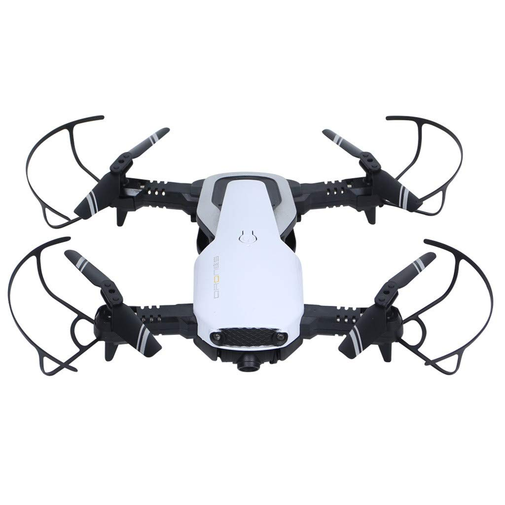 MOZATE H2 2.4Ghz 4CH WiFi FPV Optical Flow Dual 720P HD Camera RC Quadcopter Drone (AS Show)