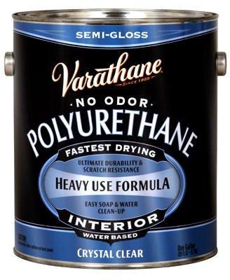 Varathane Interior Water-Based Polyurethane (Paint Side Polyurethane Top)