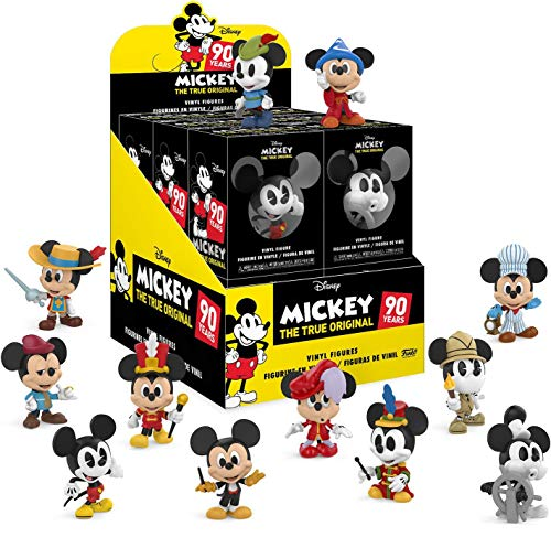 (Funko Mystery Minis: Disney - Mickey's 90th - Store Display Box of 12)