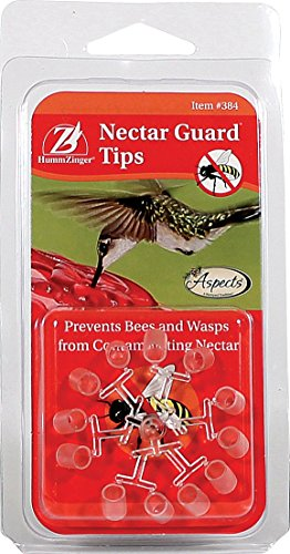 "Aspects 384 Nectar Guard Tips,Clear,4.5"" x 15.25"" x 16"""