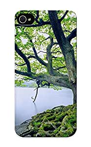 High-quality Durable Protection Case For Iphone 5/5s(landscapes Nature Trees Old United Kingdom Lakes ) For New Year's Day's Gift