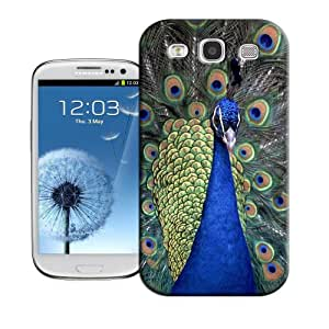 Lavender's shop Peacock TPU Protector Cover Case For Samsung Galasy S3