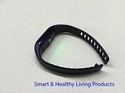 E-FIT 2016 Smart band, Heart Rate Monitor, Step Tracker, Pedometer Smart Bracelet Fitness Wearable Activity Tracker/ Waterproof Bluetooth Health Fitness Band for iPhone & Android phones (Black)