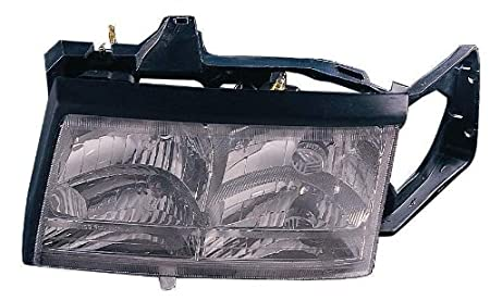 Depo 332-1186R-AS Cadillac Passenger Side Replacement Headlight Assembly 02-00-332-1186R-AS