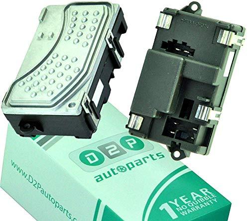 D2P 4F0 820 521 A, 4F0820521, 4 Heater Blower Fan Motor Resistor: