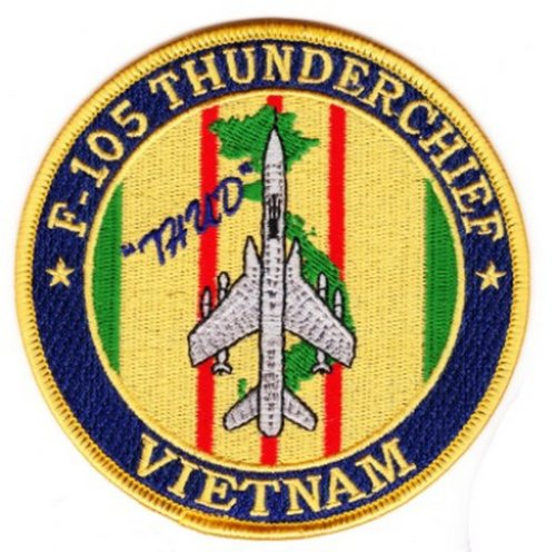 """F-105 Thunderchief """"Thud"""" Vietnam Patch for sale  Delivered anywhere in USA"""