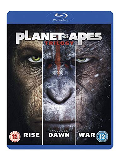 Planet of the Apes Triple [Blu-ray] [2017] for $<!--$15.15-->