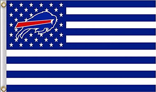 New Buffalo Bills Flag, Bills Flag, Five Star Flags, Flag for Indoor or Outdoor Use, 100% Polyester, 3 x 5 Feet.