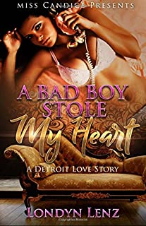 Book Cover: A Bad Boy Stole My Heart: A Detroit Love Story
