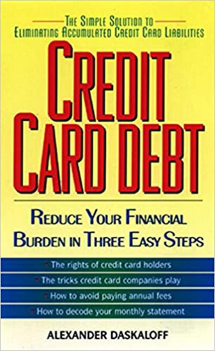 Credit Card Debt: Alexander Daskaloff: 9780380807000: Amazon