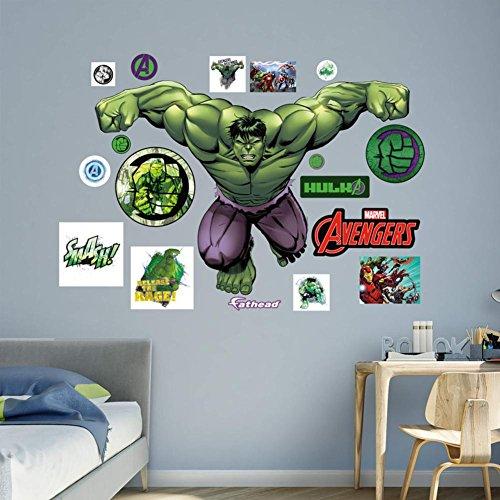 Fathead Peel and Stick Decals Marvel Avengers Assemble Hulk