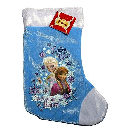Calza natalizia con personaggi Elsa e Anna di Frozen, 21x 39cm, NO2810 Aptafêtes