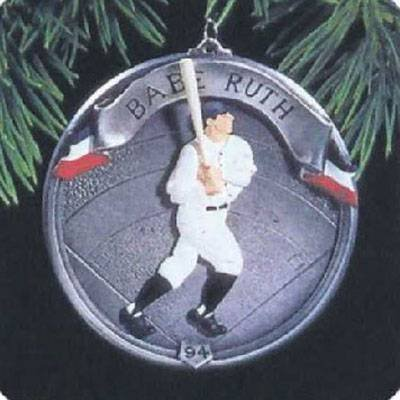 Vintage BABE RUTH Collector's Ornament (New/1994) (Babe Ornament)