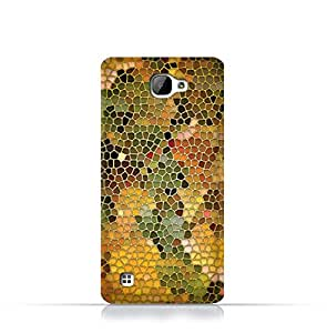 LG X5 TPU Silicone Case With Stained Glass Art Design