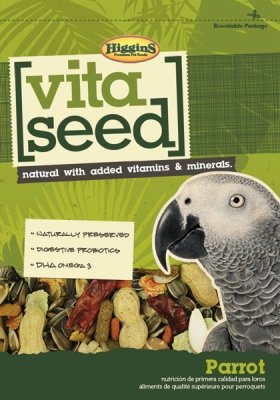 HIGGINS 466119 Higg Nederlands Vita Seed Parrot Food, 25-Pound by Higgins