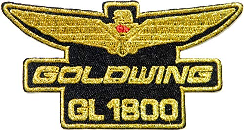 Honda Goldwing GL 1800 Motorcycle Biker Patch Iron