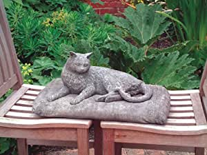 Estatua de gato docrafts