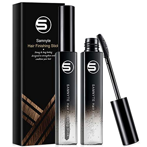 Samnyte Hair Finishing Stick, 2 Pack × 0.7 Fl.Oz Hair Mascara for Flaway Hair Shaping Feel Cream Moisturizing Not-greasy Flash Moment Broken Hair completing Stick Bangs Styling Gel