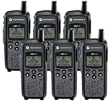 6 Pack of Motorola DTR410 Two way Radio Walkie Talkies