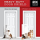 CLAWGUARD Heavy Duty Big Dog Scratch Shield - Ultimate Door, Frame and Wall Protection