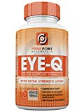 Eye-Q Powerful Vision Support Advanced Formula with: Extra Strength Lutein, Bilberry, Vitamin A and Zinc, Best Support for Retina and Macula with Vitamins and Antioxidants 60 Tablets For Sale