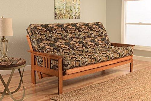 - Kodiak Furniture KFMOBBPCABLF5MD3 Monterey Futon Set with Barbados Finish, Full, Peter's Cabin