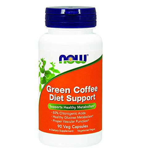 NOW Green Coffee Diet Support,90 Veg Capsules