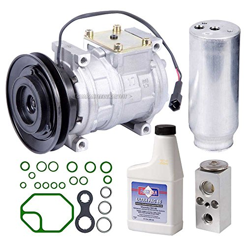 Dodge Intrepid Ac Compressor (New AC Compressor & Clutch With Complete A/C Repair Kit For Intrepid Concorde - BuyAutoParts 60-80159RK New)