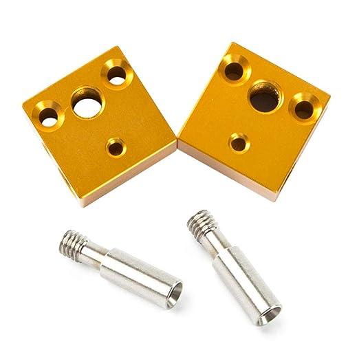MOGOI Bloque de Calentador de Aluminio, Kit de boquillas ...