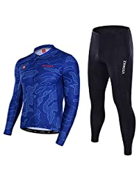 0c3d05170 EoCot Summer and Autumn Bike Riding Suit Men s Long Sleeve Set Breathable  Mountain Bike Riding Clothes