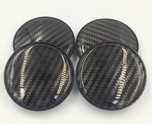 stuk 4pcs 68MM Wheel Center Caps Carbon Fiber Hub Cover Hub Center Caps Auto Parts for E82 E30 E36 E46 E90 1 3 5 6 7 X Z Series