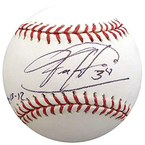 - Felix Hernandez Autographed Signed Memorabilia Official MLB Baseball Seattle Mariners Pg 8-15 -12 - Beckett Authentic