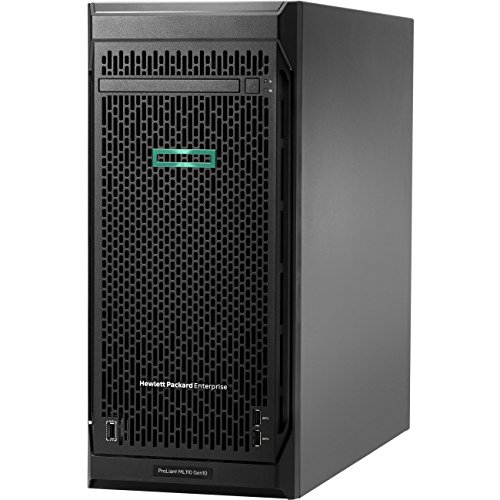 HPE ProLiant ML110 G10 4.5U Tower Server 1 x Intel Xeon Silver 4108 Octa-core (8 Core) 16GB Installed DDR4 SDRAM Serial ATA/600 Controller 1 x 550 W Model P03686-S01 by HP