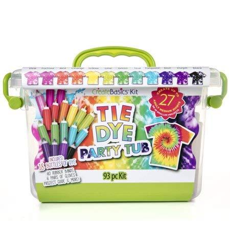 Create Basics 18 Bottle Tie Dye Party Tub by Tulip One-step Tie-Dye