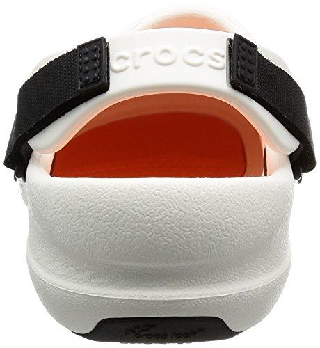 crocs Unisex-Erwachsene Bistro Pro Clog Weiß (White)
