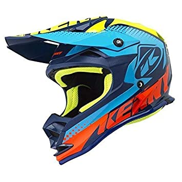 Kenny Performance niños de motocross Casco 2018 – cian, Cyan