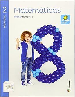 Resultado de imagen de libro saber hacer lenguaje matematicas santillana 2º