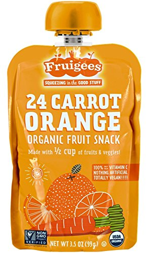 Fruigees Organic Fruit Carrot Orange product image