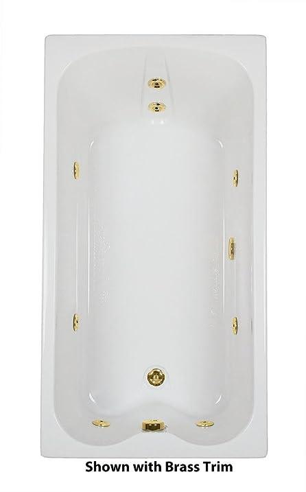 60 in. x 32 in. Single Bather Ultra Whirlpool Bath Bone Tub with ...