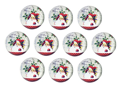 CLEARANCE SALE BULK 10 PK Most Popular Santa Claus Paperweight Collector Collection Display Fun Weird Birthday Gift Idea for BFF Child Kid Daughter Son Christian Collectibles Stocking Stuffer Themed