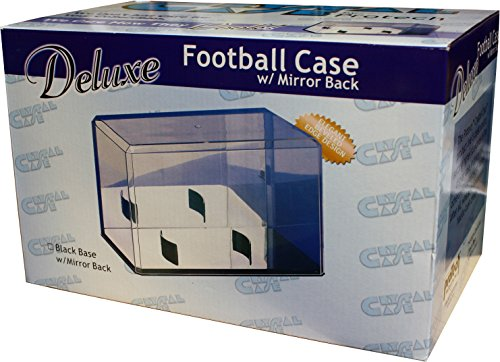 mirrored football display case - 9