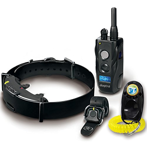 Dogtra ARC HANDSFREE Remote Training Dog Collar – 3/4 Mile Range, Hands Free Remote Controller, Waterproof, Rechargeable, Shock, Vibration – Includes PetsTEK Dog Training Clicker