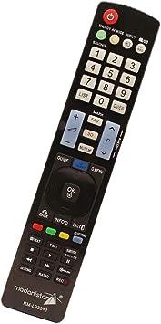 Mando a Distancia Universal Compatible con Todos los televisores de la Marca LG, Smart TV, Plasma LCD LED 3D TV & DVD BLU-Ray Player: Amazon.es: Electrónica
