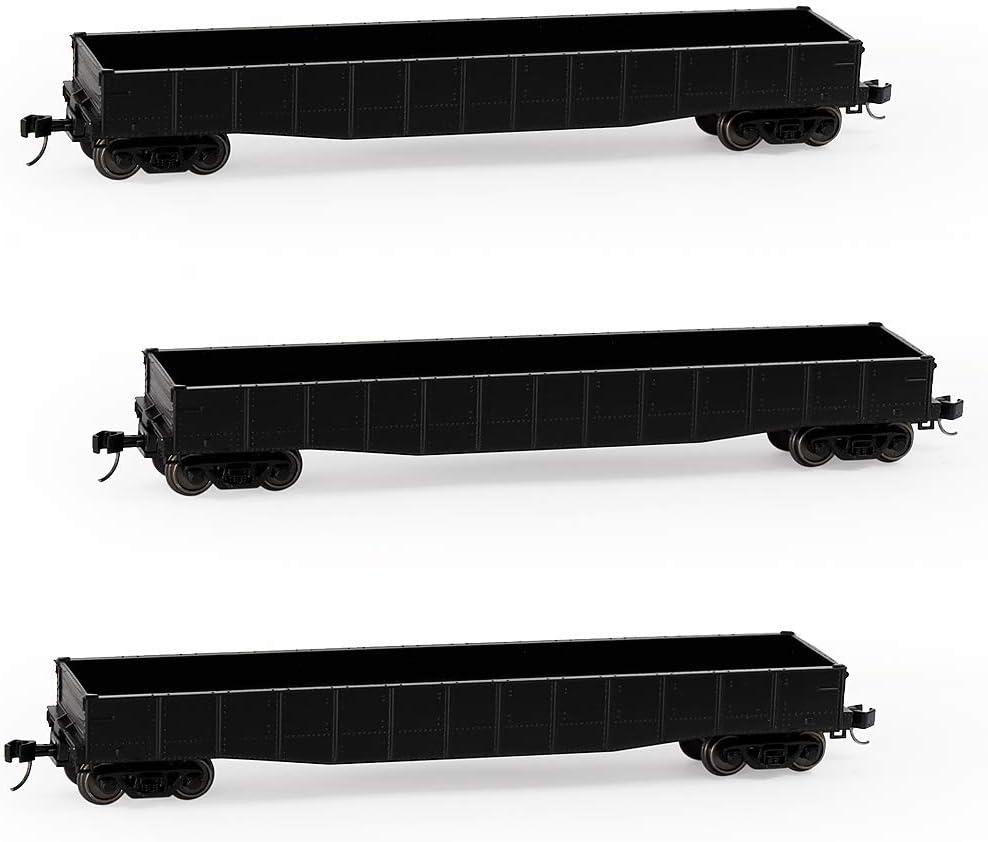 P /& LE Gondola No Trucks or Couplers 18500-18511 Set of 12 N Scale LBF Co